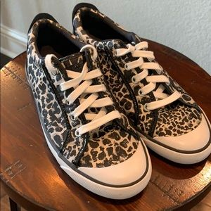 Coach Barrett leopard sneakers